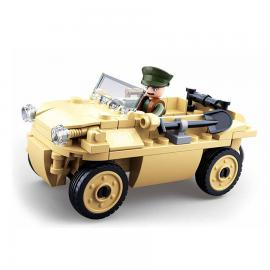 Sluban WWII German amphibious vehicle M38-B0690